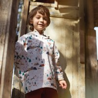 Sewing comfortable clothing for kids is possible. Sweatshirts, trousers, leggings...