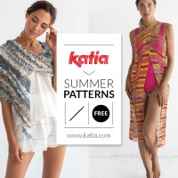 What to crochet in summer? 10 free crochet patterns to make ponchos, shawls, beach wraps, bikinis…