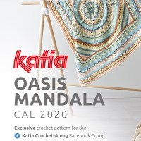 Oasis Mandala CAL 2020: Experience the incredible feeling of creating with your own hands!