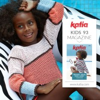 Discover the 9 easiest crochet patterns for girls feature in the new Katia Kids 93 magazine