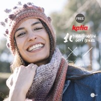 Handmade gift ideas! 10 free patterns to knit or crochet quick and easy gifts using the new Katia yarns
