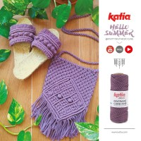 How to make macramé sandals: video tutorial and 12-step instructions by @knittingtheskyline