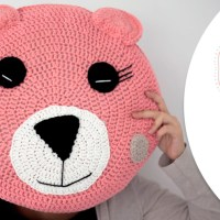 Craft Lovers ♥ Cojín Oso de ganchillo con Katia Big Alabama por Follow the Crochet