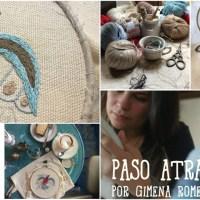 Aprende bordado con Gimena Romero y su vídeo Punto 'Paso Atrás' con Katia Cablè 5