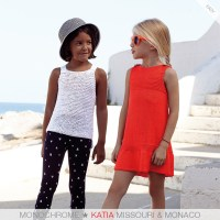 Estos son los 7 patrones de punto para niñas más fáciles de tejer de Katia Niños 81