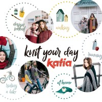 Tejer es fácil con los 45 patrones de la nueva revista Katia Easy Knits. ¡Solo puntos básicos!