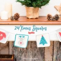 24 Xmas Squares exclusivos para tejer cada día del Calendario de Adviento y un sorteo navideño