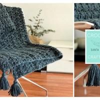 Crochet XL con Santa Pazienzia: Haz a ganchillo una preciosa manta a punto abanico