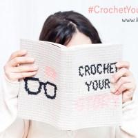 Aprende Jacquard Crochet con nuestra funda de libro Crochet your Story