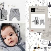 Colección Xmas Coming: Telas y patrones navideños para coser durante las fiestas