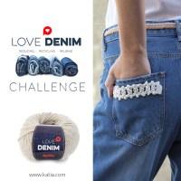 Reto Love Denim: Recicla una vieja prenda vaquera y gana 3 surtidos de hilos sostenibles