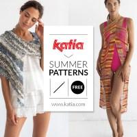 ¿Qué tejer en verano? Descarga 10 patrones de ganchillo gratis para hacer ponchos, chales, tops, pareos, bikinis...