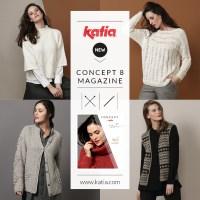 Novedades Katia Otoño Invierno 2019-2020: Descubre la nueva revista y 6 nuevos hilos Concept by Katia