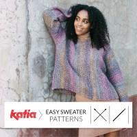 ¡Haz tu primer suéter hecho a mano! 10 jerséis fáciles de punto y ganchillo para principiantes