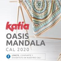 Oasis Mandala CAL 2020: Ya está disponible el kit para tejer esta manta con colores inéditos Katia Basic Merino