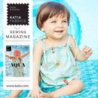 Conoce nuestra primera revista de patrones Katia Fabrics primavera verano 2020: 30 patrones para confeccionar prendas y accesorios de bebé y niños