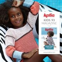 Los 9 patrones de crochet para niñas más fáciles de hacer de la nueva revista Katia Niños 93