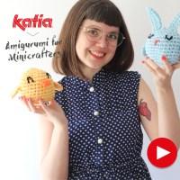 Amigurumi paraMinicrafters:nuevos videos parahacera crochet huevos, pollitos y conejitos