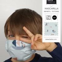 Aprende a realizar una mascarilla infantil con filtro TNT 😷