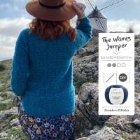 Jersey a ganchillo The Waves de Susi se enreda: Disfruta este patrón inspirado en el mar y en la literatura