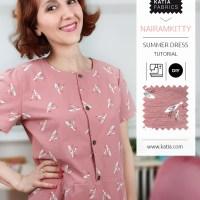 Aprende cómo coser un vestido de verano con el patrón gratis de @nairamkitty y su video paso a paso