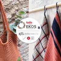 Kits Zero Waste EKOS Collection: 12 proyectos de crochet 'residuos cero' para un hogar sostenible