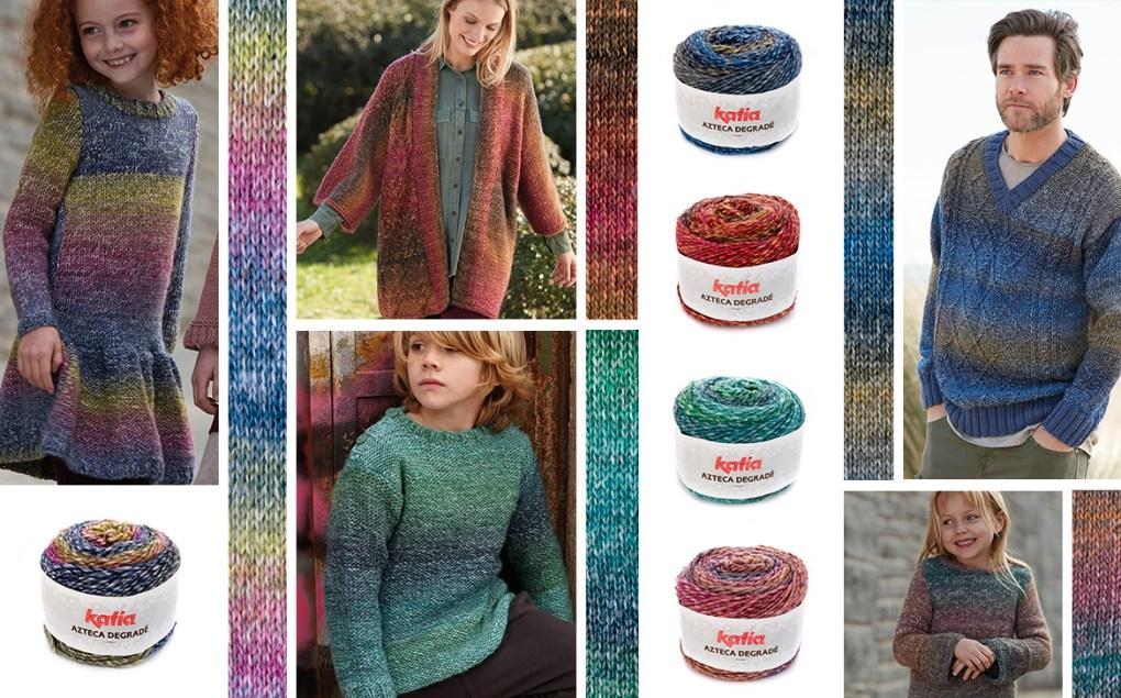 laines katia automne hiver 2018 azteca degrade