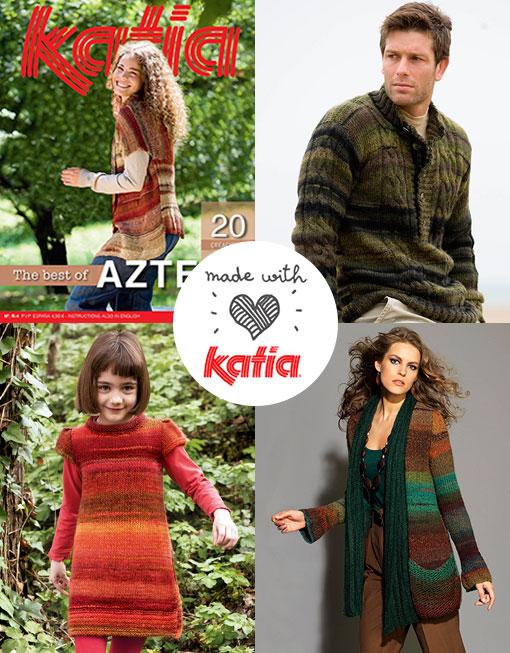 10 catalogues Katia pour ne plus vous arrêter de tricoter!