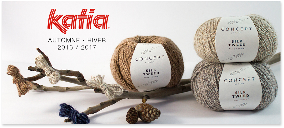 Nouvelle Collection Katia Automne - Hiver 2016 / 2017