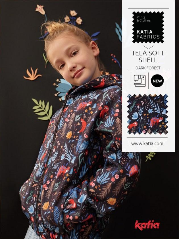 tissus automne-hiver fabrics soft shell