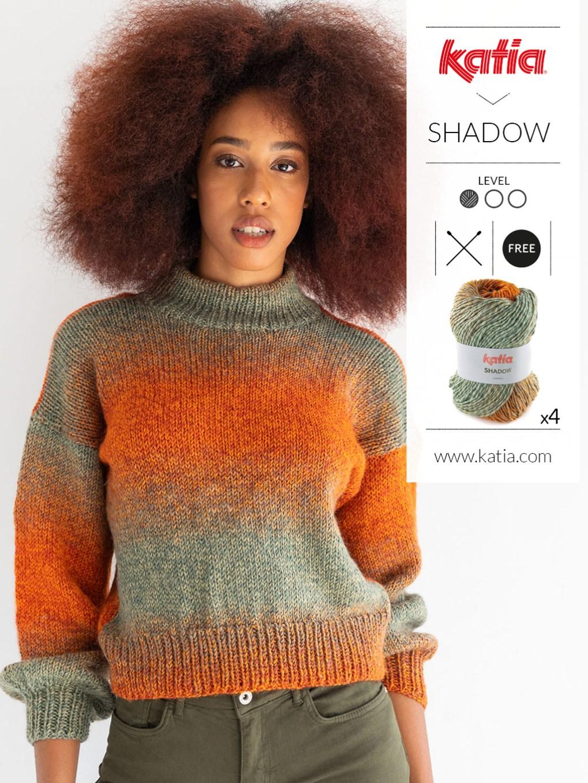 pulls faciles au tricot et crochet  shadow