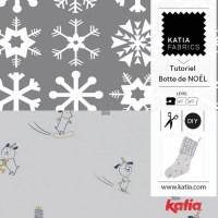 Comment coudre une botte de Noël: tutoriel couture pour débutants avec notre collection de tissus de Noël