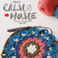 Rejoignez le défi crochet d'Ahuyama Crochet et apprenez à faire mandalas carrés au crochet pour vous détendre