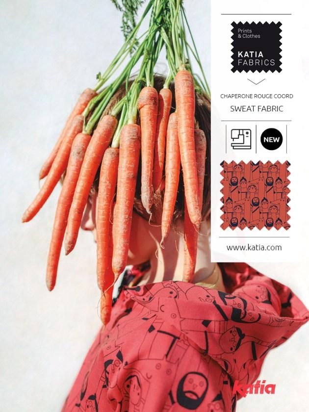 Tissus Fabrics Petit Chaperon Rouge sweat