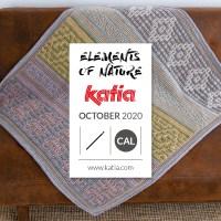 Elements of Nature CAL 2020: le kit pour crocheter cette couverture est disponible en 4 combinaisons de différentes couleurs