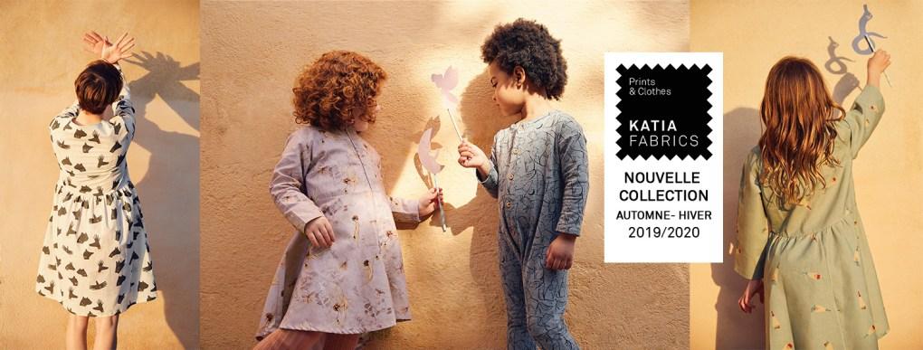 nouveaux tissus Katia Fabrics slide