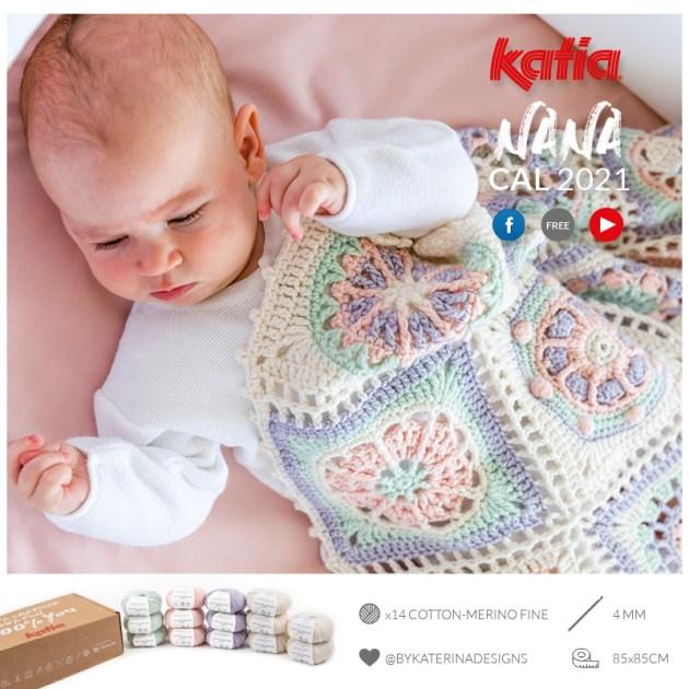 couverture pour bébé en crochet