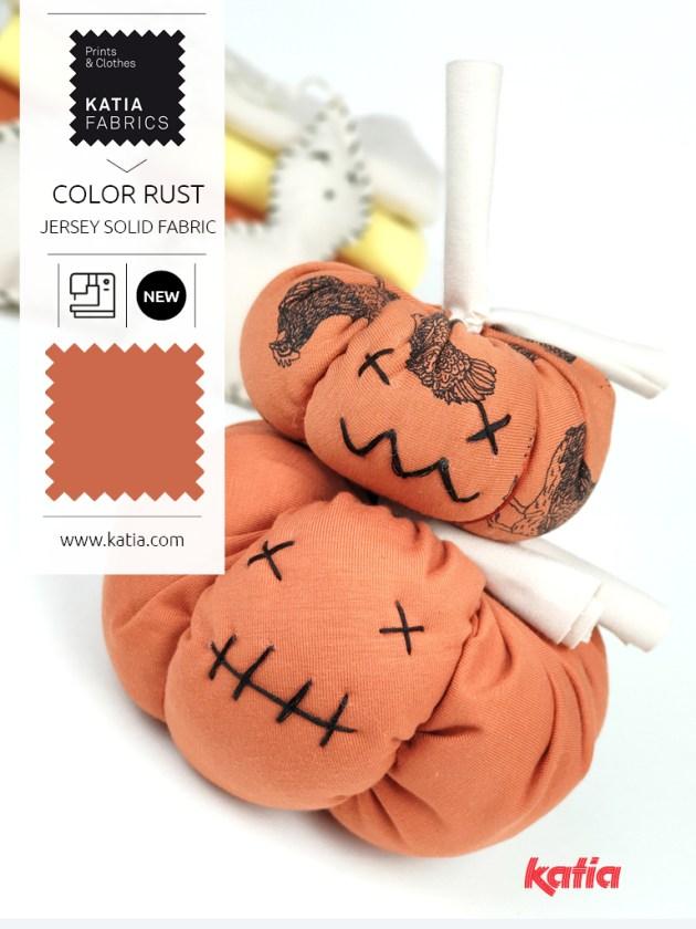 Halloween citrouilles et fantômes en tissu feat