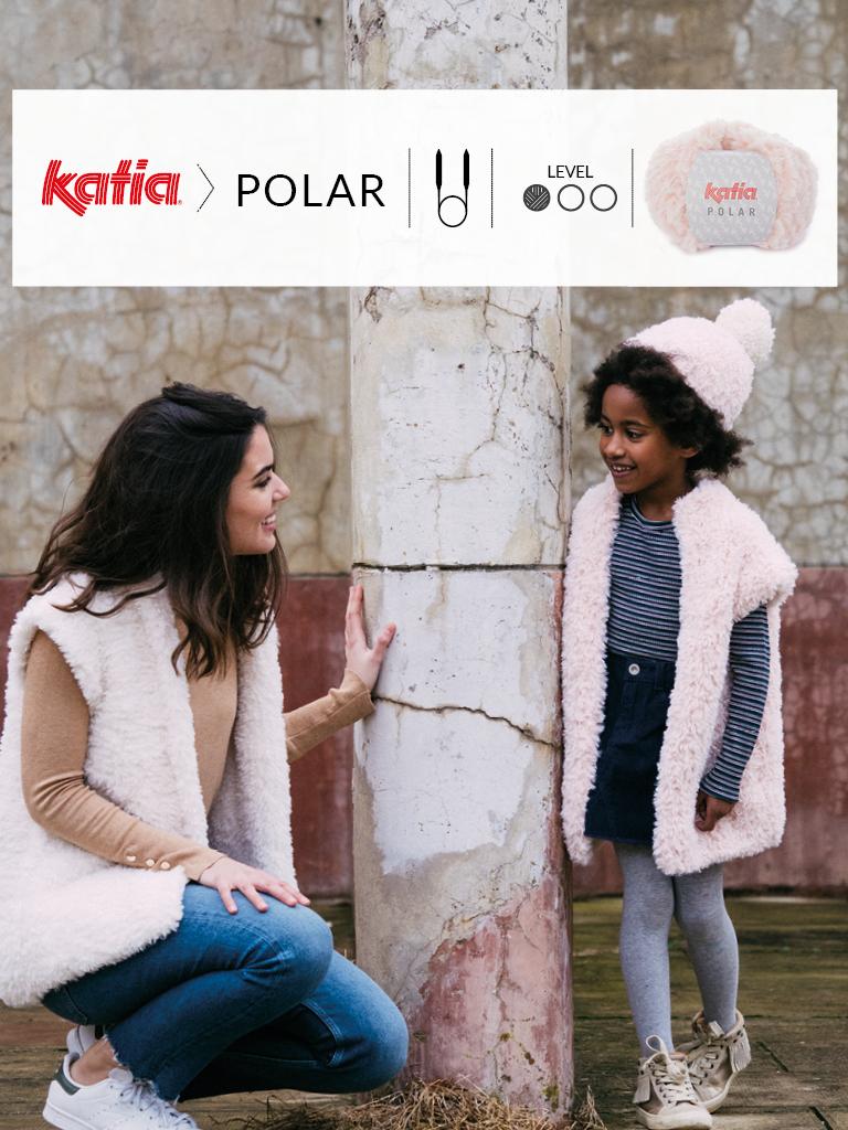 tricoter avec des aguilles circulaires bonnet polar