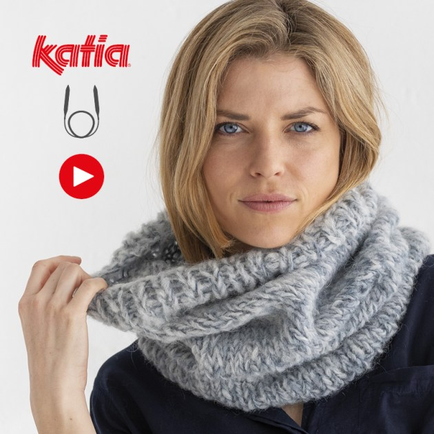 Comment tricoter avec des aiguilles circulaires feature