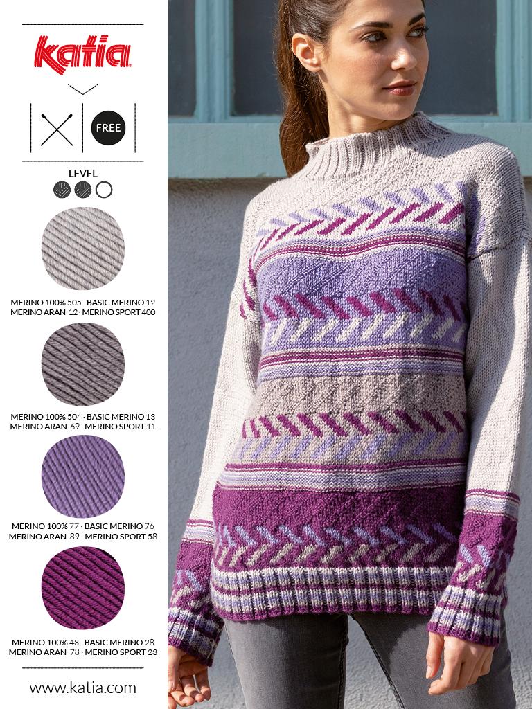 couleurs tendance et laine mérinos