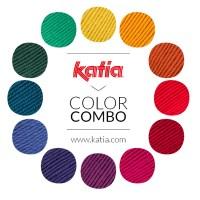 3 combinaisons de couleur pour tricoter avec de la laine Mérinos votre prochain pull à rayures, en jacquard, à carreaux...