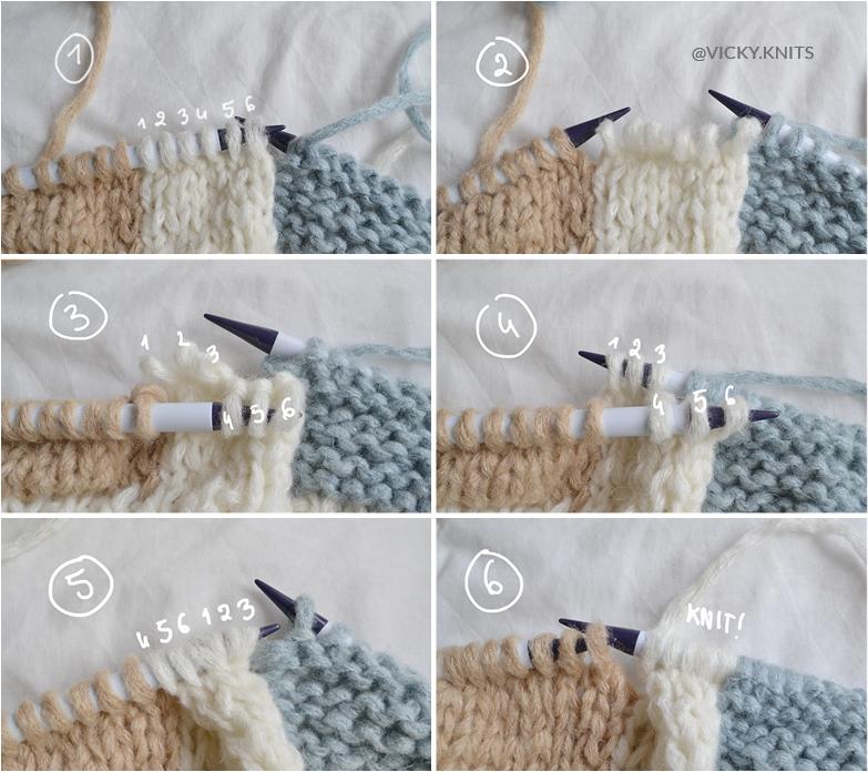 tricot intarsia