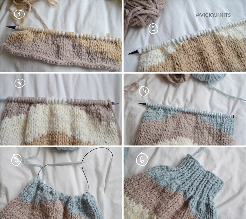 pull tricot manches