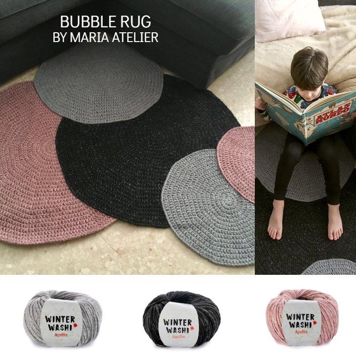 patron crochet tapis bubble - 2