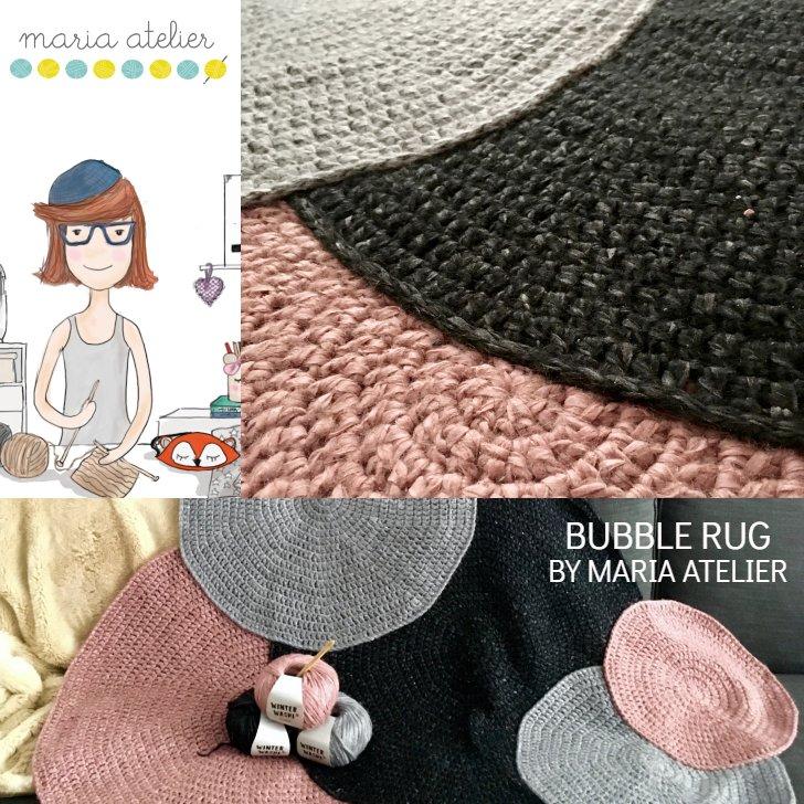 patron crochet tapis bubble - 3