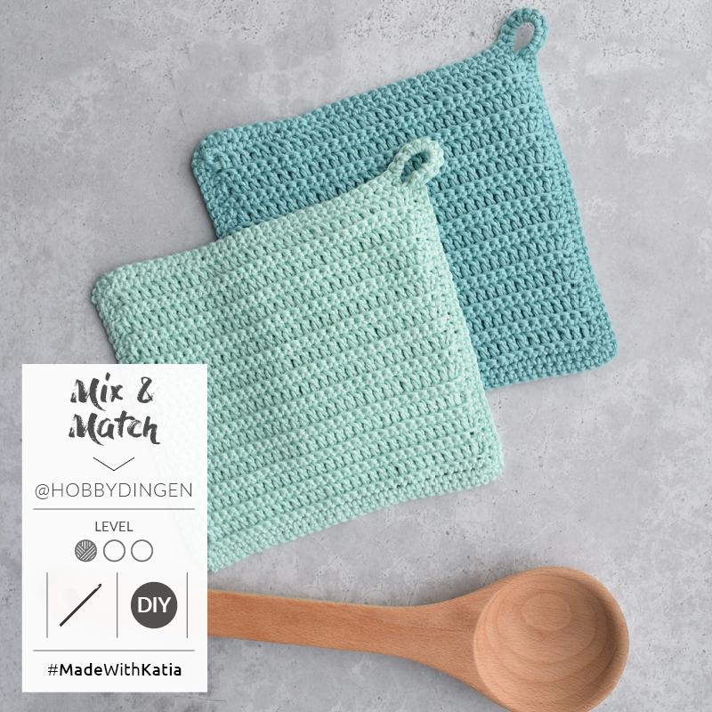 Maniques Mix & Match au crochet2
