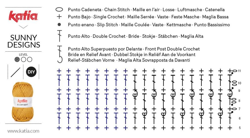 sac carré au crochet schéma 2