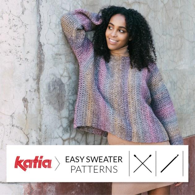 pulls faciles au tricot et crochet feat
