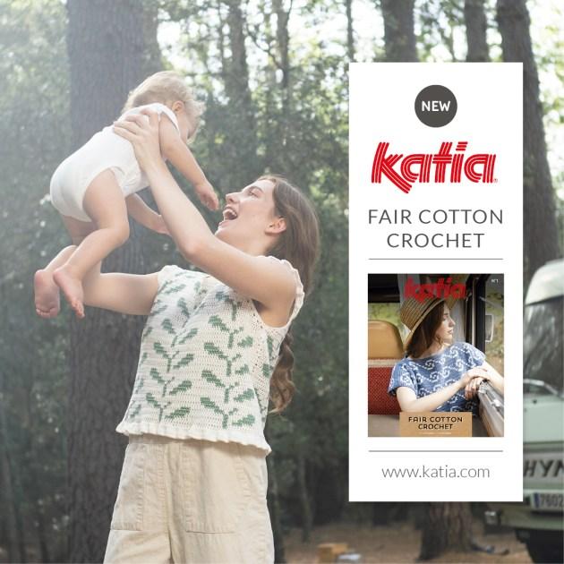 magazine fair cotton crochet feat